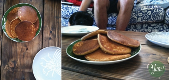 Saturday Styled - Yummy Whole Wheat Pancakes