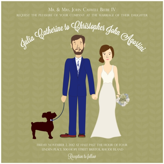 Chris & Julia's Wedding Invites